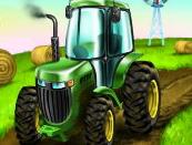 Парковка трактора