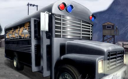Автобус с заключенными