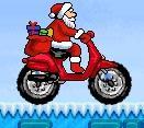Гонщик Санта