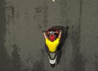 Заезд на скутерах